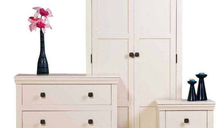 Cream Painted Shabby Chic Bedroom Furniture Wardrobes