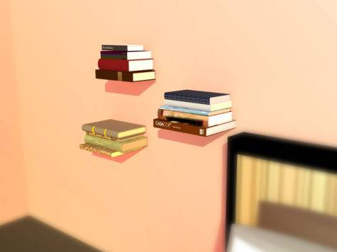 Create Invisible Shelves Steps