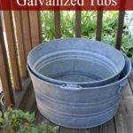 Creative Ideas Galvanized Tubs Exquisitely Unremarkable