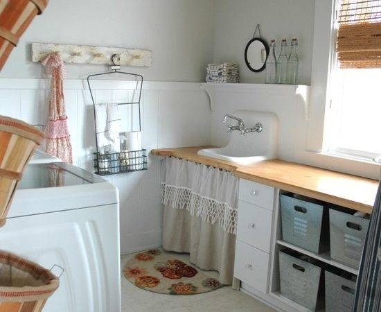 Creative Laundry Room Ideas Rustic Crafts Chic Decor