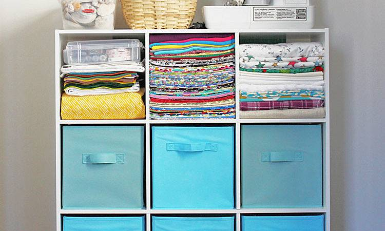 Creative Thrifty Small Space Craft Room Organization