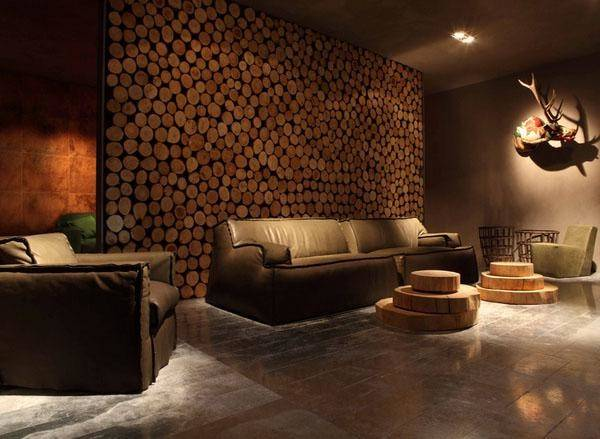 Creative Unique Wall Designs Living Room