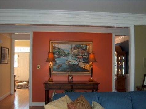Creatively Yours Custom Interior Design Paint Makes Pop