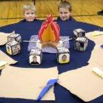 Cub Scout Blue Gold Table Decoration Ideas Photograph