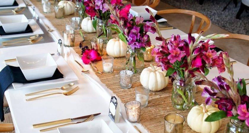 Cuban Coffee Chic Halloween Dinner Party Decor