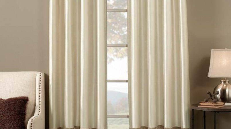 Curtain Red Cream Curtains Living Room Throughout