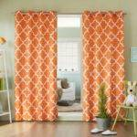 Curtains Awesome Turquoise Orange Living Room