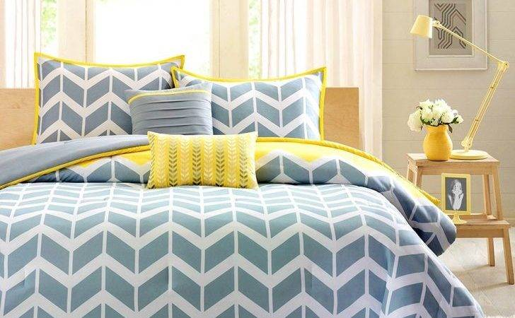 Curtains Gray Yellow Teal Decor Grey Bedroom