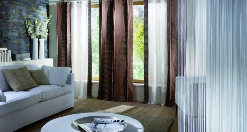 Curtains Grey Living Room Decorating Modern