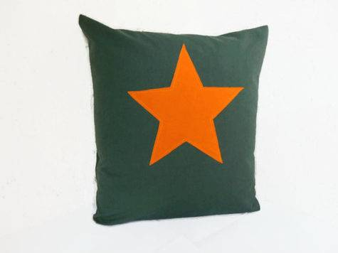 Cushion Cover Star Industrial Style