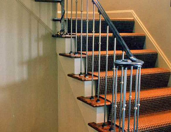 Custom Interior Railings Hand Forged Details