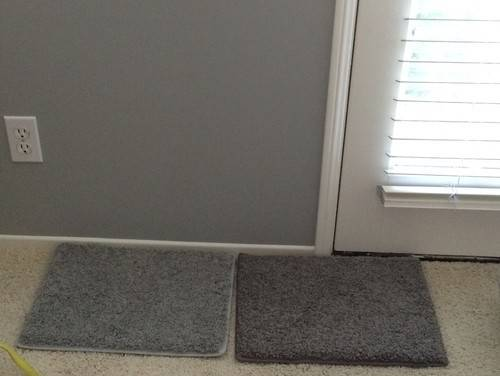 Dark Light Carpet Coventry Gray Walls
