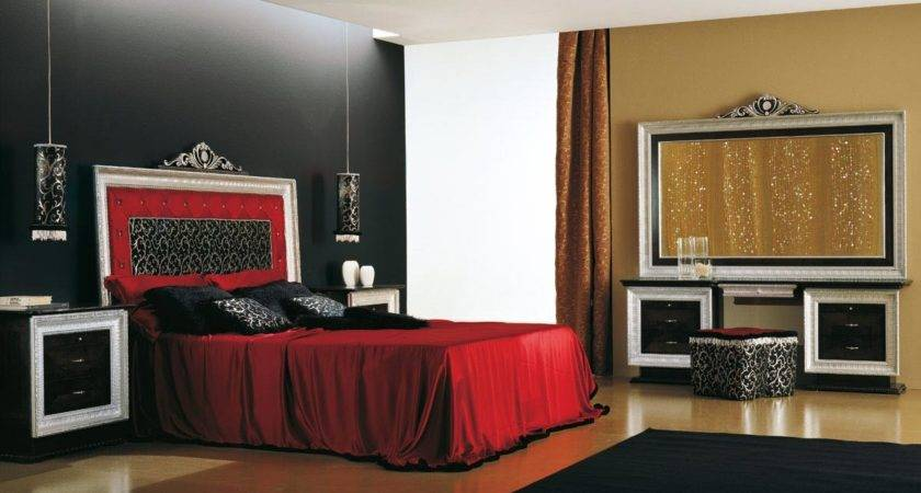 Dazzling Black Bedroom Accent Wall Design Mesmerizing