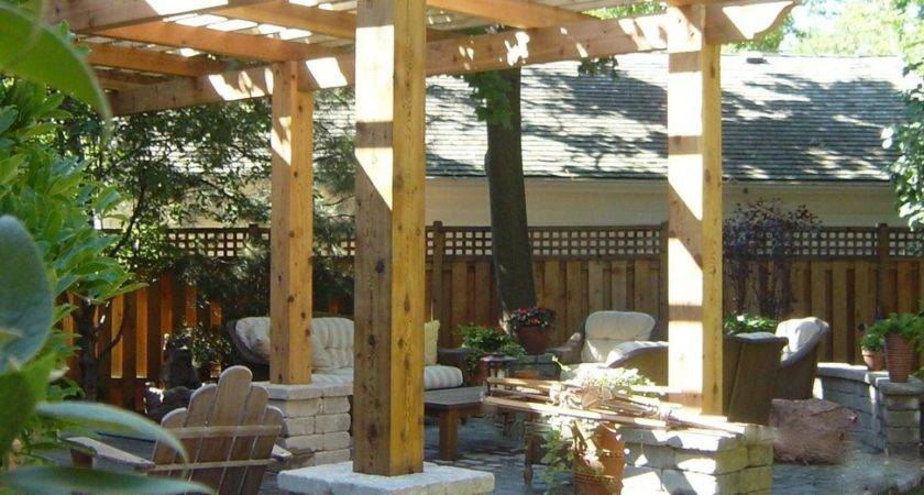 Deck Pergola Plans Design Interesting Decks Pergolas