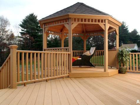 Decks Pinterest Gazebo Screened Deck Design