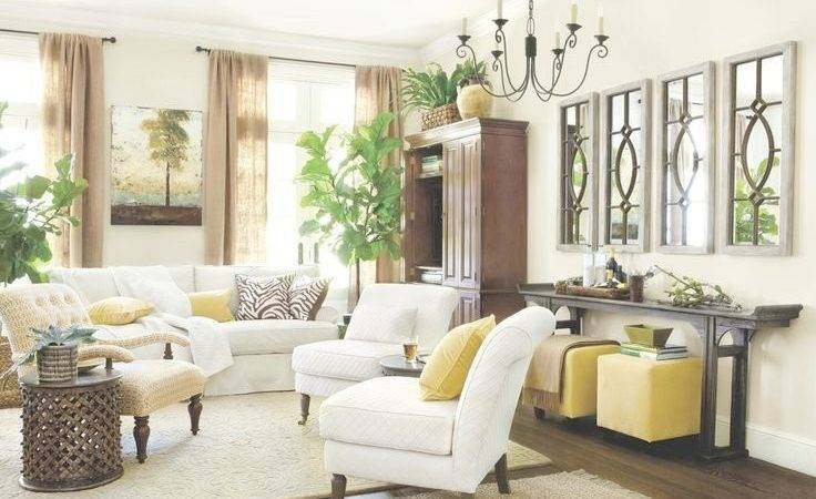 Decorate Big Living Room Modern Style Home