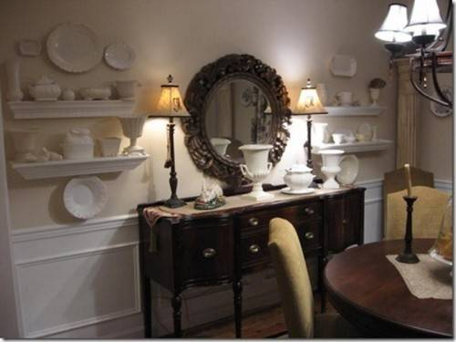 Decorate Buffet Table Dining Room Get