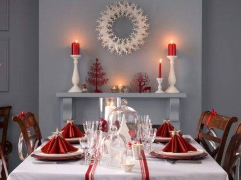 Decorate Christmas Dinner Table Ideas Best Way