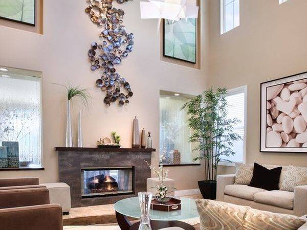 Decorate Large Living Room Make Feel Cosy