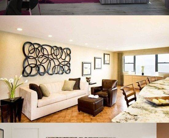 Decorate Large Wall Living Room Interior Design
