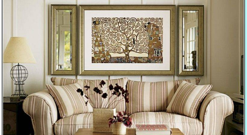 Decorate Large Walls Living Room