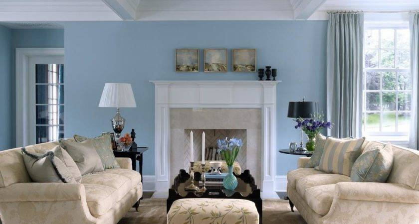 Decorate Light Blue Living Room Walls Warisan