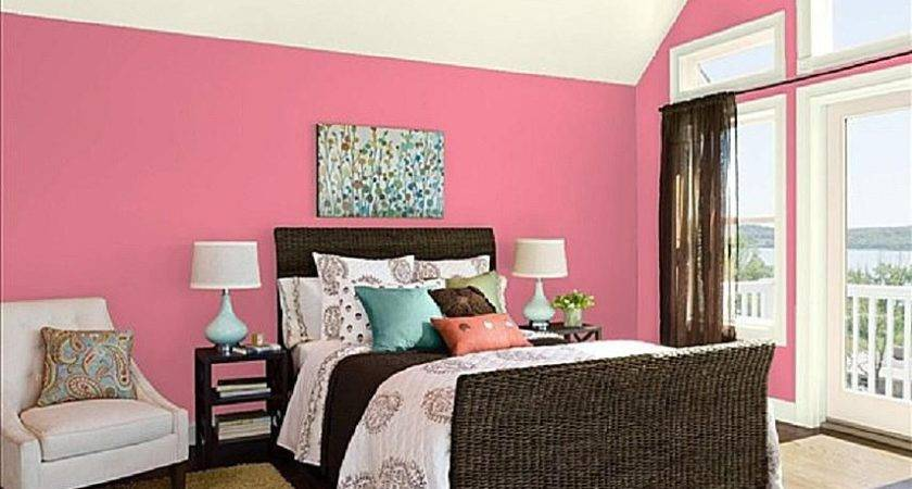 Decorate Master Bedroom Pink
