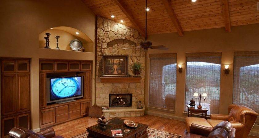Decorate Small Living Room Corner Fireplace