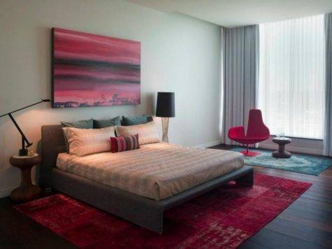 Decorating Master Bedroom Ideas Red