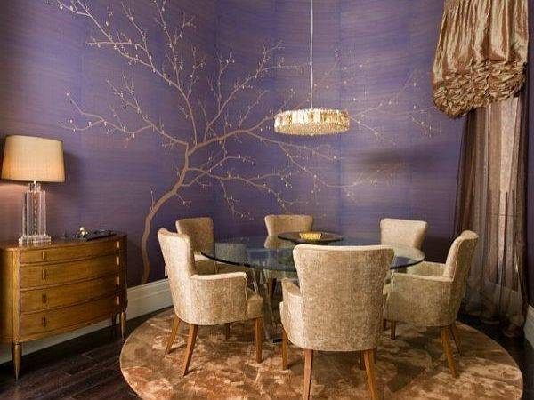 Decorating Purple Rooms Designs