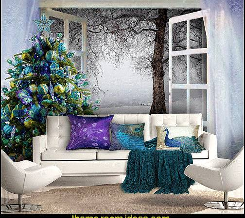 Decorating Theme Bedrooms Maries Manor Peacock Color