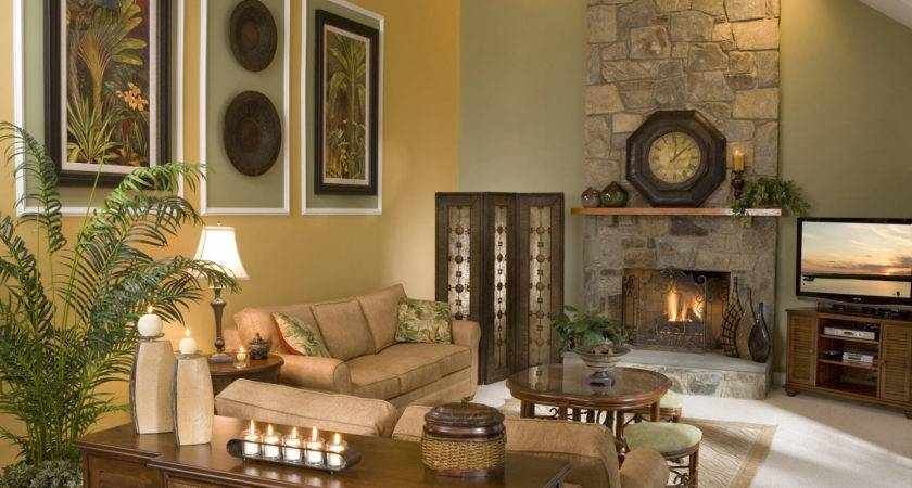 Decorating Walls Room Vaulted Ceiling Home Combo
