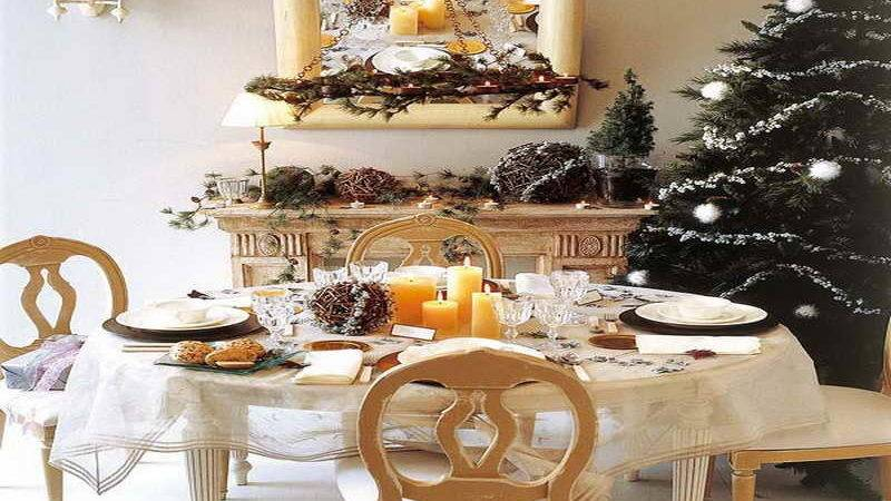 Decoration Decorate Dinner Table Christmas
