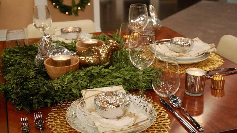 Decoration Holiday Table Decorating Ideas Cloth