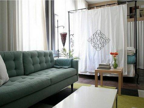 Decoration Room Divider Ideas Studio Apartments