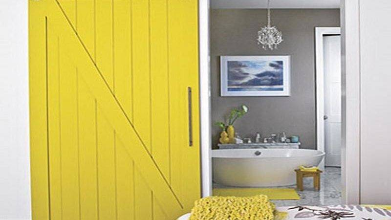 Yellow Paint Combinations Placement