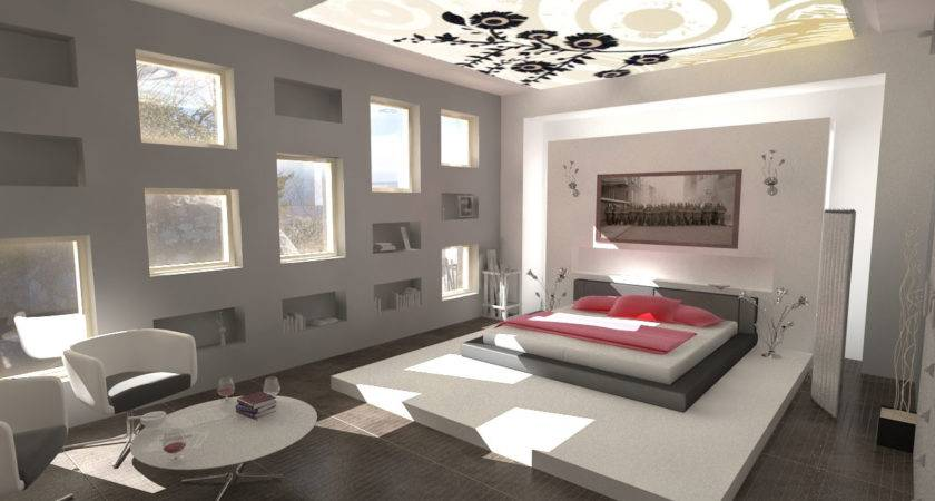 Decorations Minimalist Design Modern Bedroom Interior
