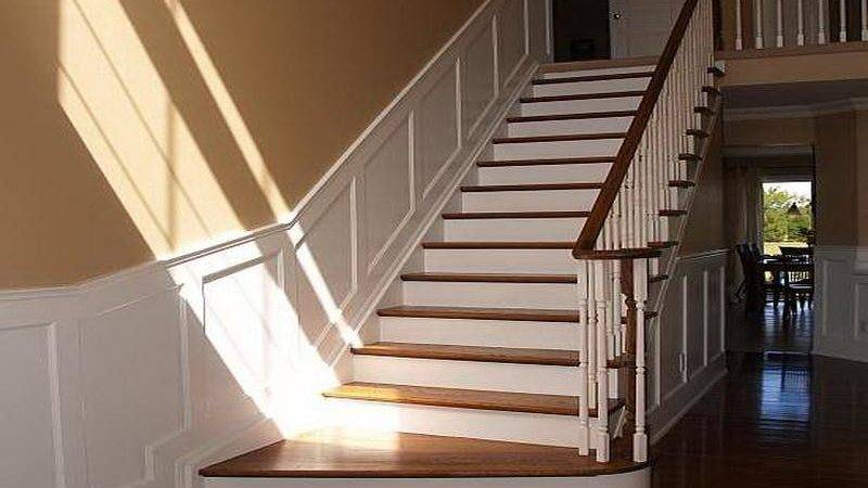 Decorations Wainscoting Kits Staircase Design Ideas