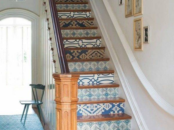 Decorative Stair Risers Make Statement Your