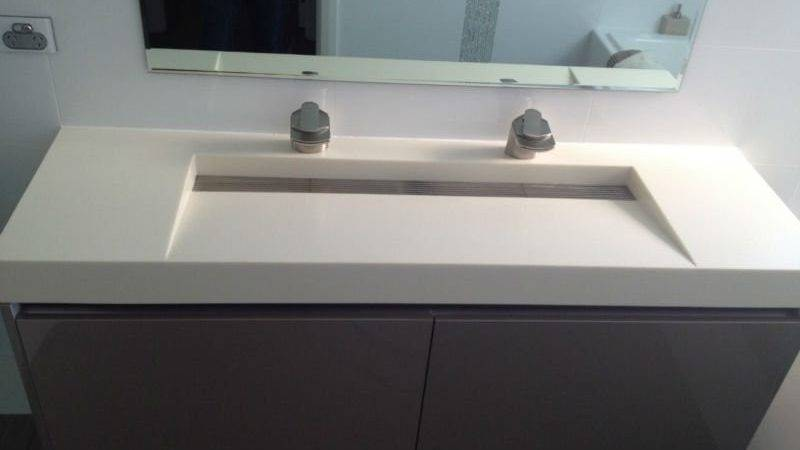 Designed Corian Basin Integrated Sink Buy