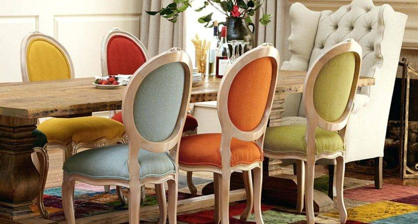 Different Color Dining Room Chairs Homewhiz Circle
