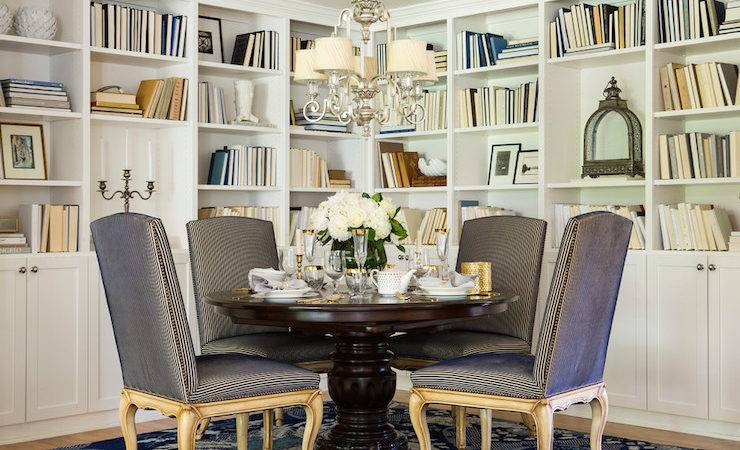 Dining Room Bookcase Transitional Martha