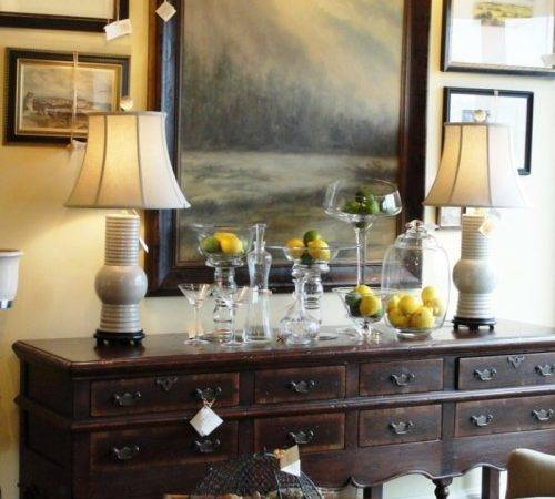 Dining Room Buffet Decorating Ideas Photos
