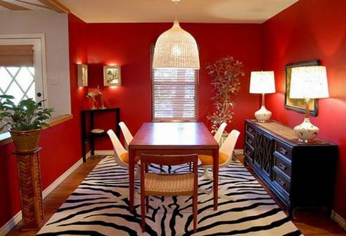 Dining Room Color Ideas Modern Homes Home Interior