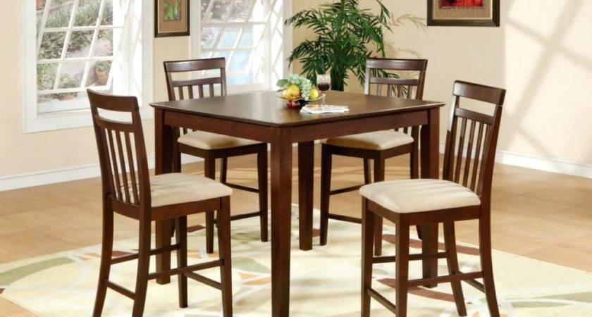 Dining Room Cool Bar Table Decoration Ideas