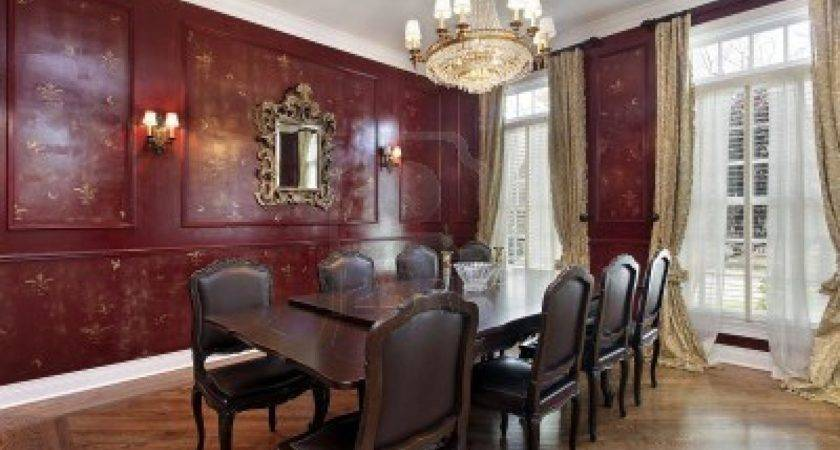 Dining Room Decorating Ideas Red Walls Decosee