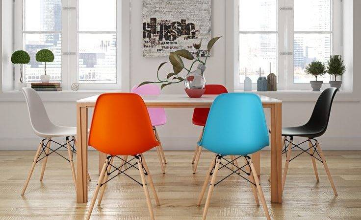 Dining Room Extraordinary Colorful Chairs