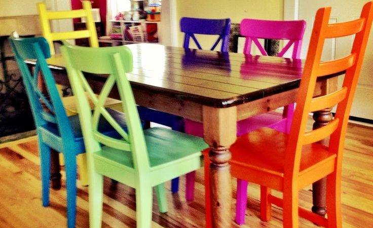 Dining Room Inspiring Colorful Sets Multi