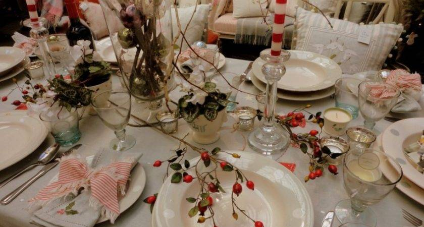 Dining Room Lovely Dinner Table Decoration Christmas