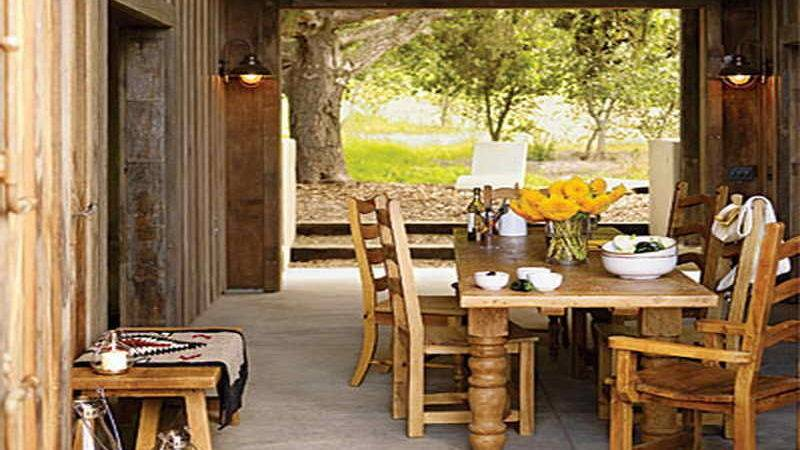 Dining Room Rustic Rooms Ideas Living